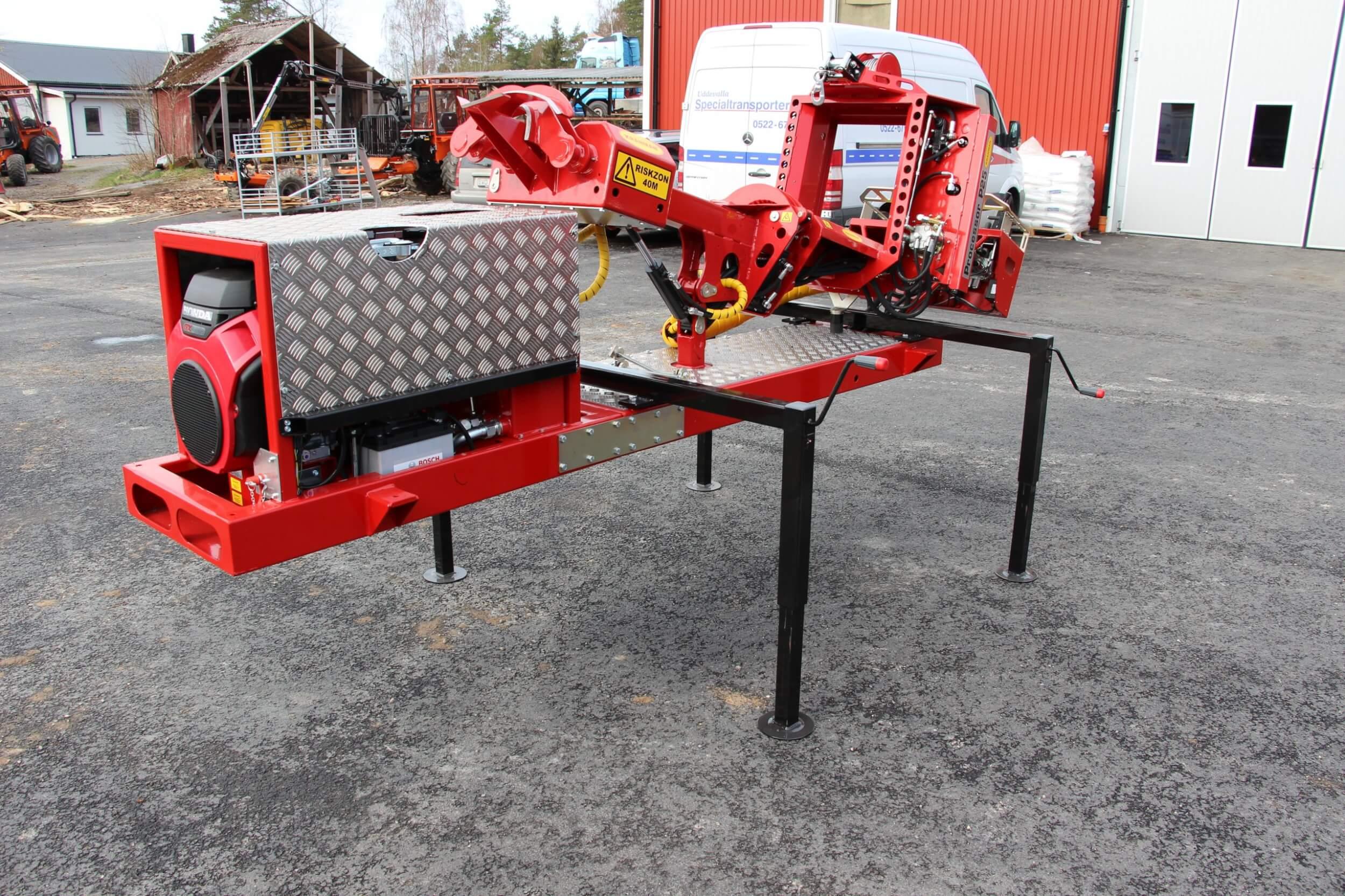 Processor P25 för vagn