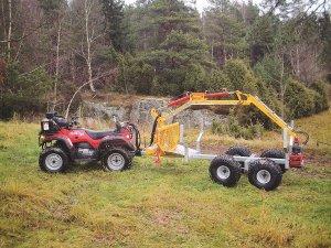 Kranmans första ATV-vagn