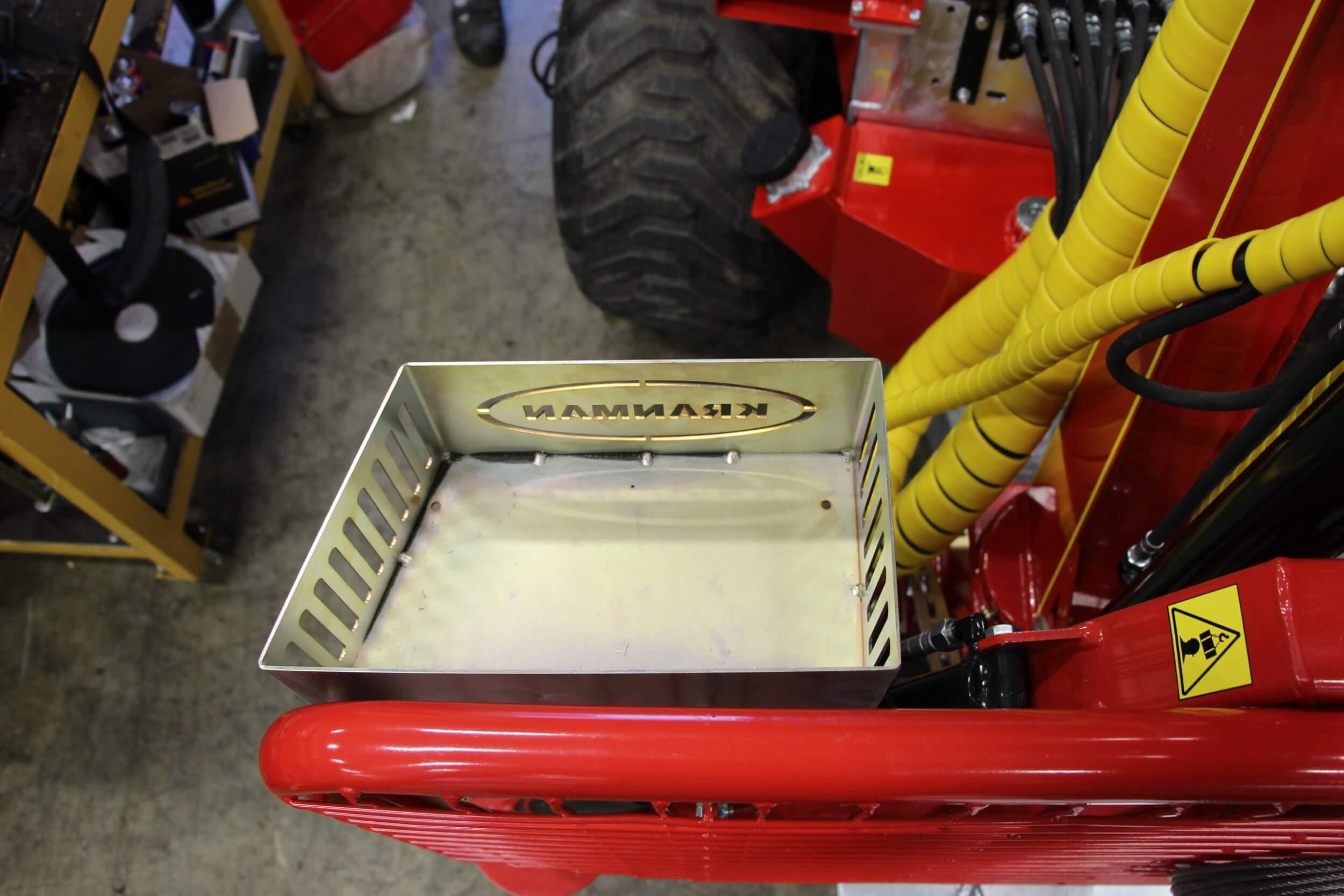 BK-FK3 Förvaringslåda monterad på grind