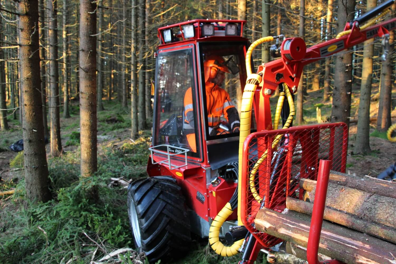BK-HJ19.0 Bredare hjul till Bison miniskotare