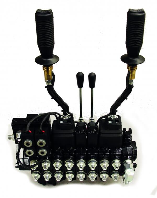 2 spak el-on/off ventilpaket