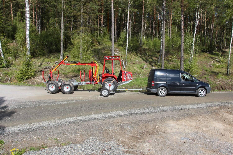 DK-DV Dollyvagn stor