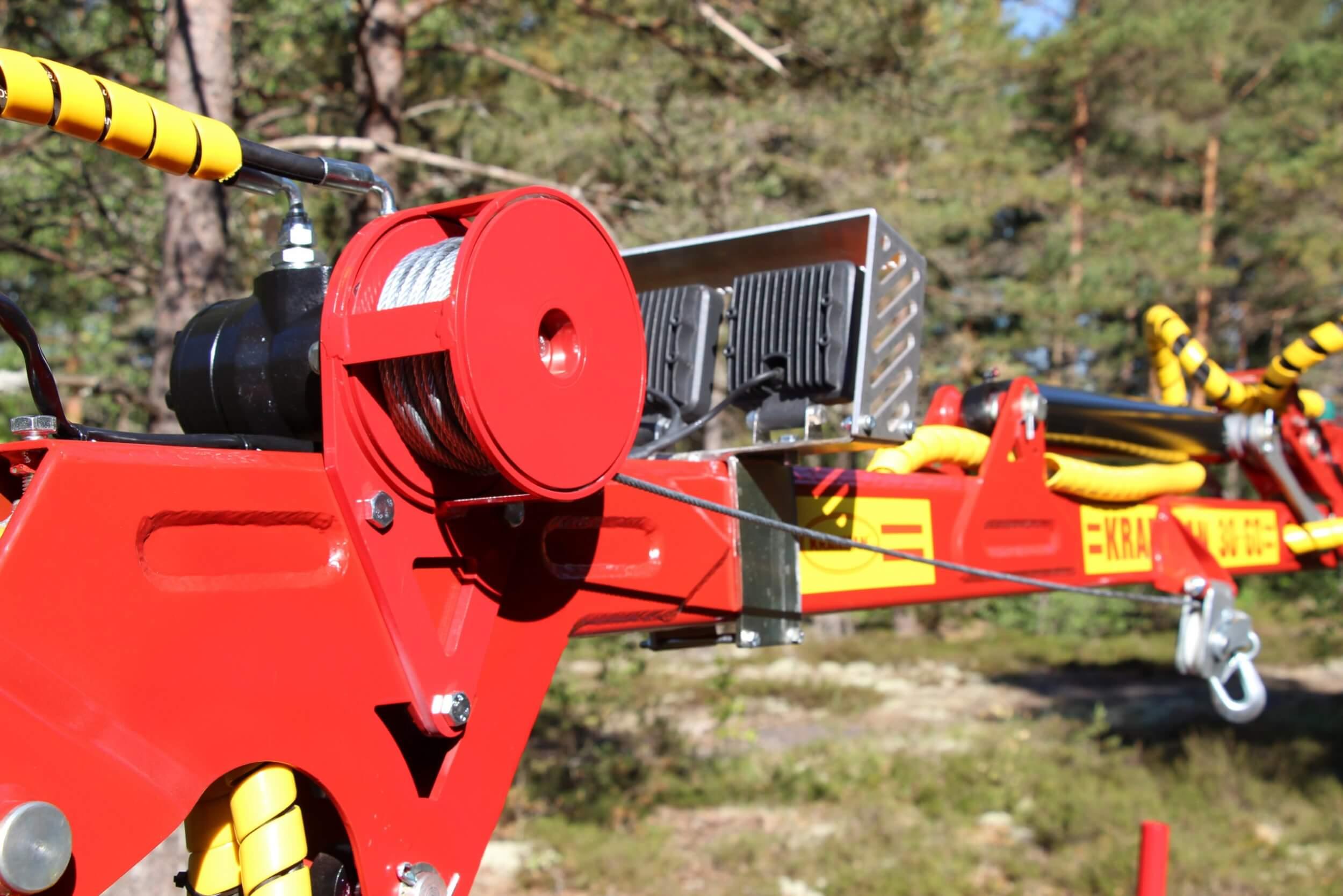 Fjärrstyrd hydraulvinsch HV500