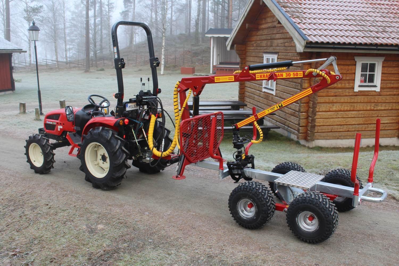 KP1131T Griplastarvagn traktor
