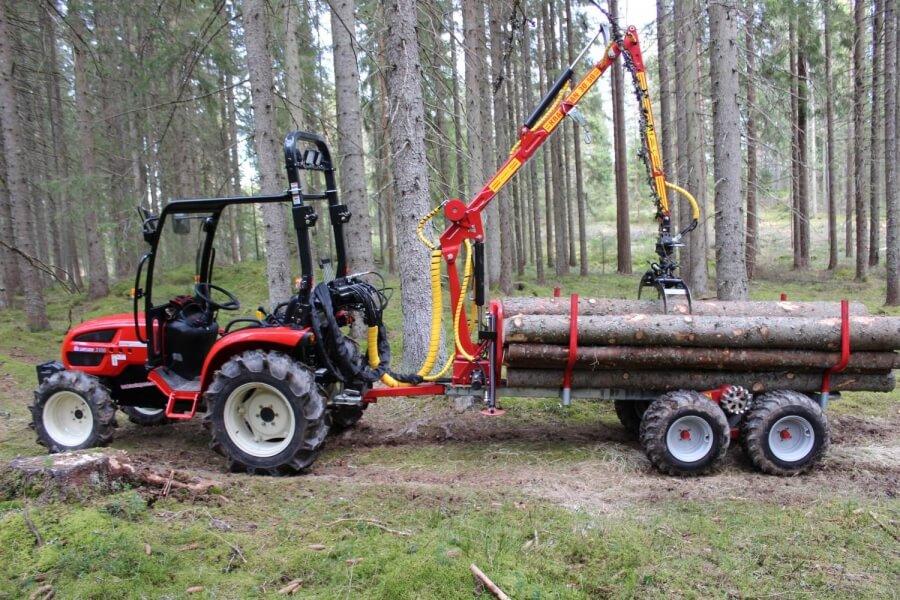 KP1133T Griplastarvagn till traktor
