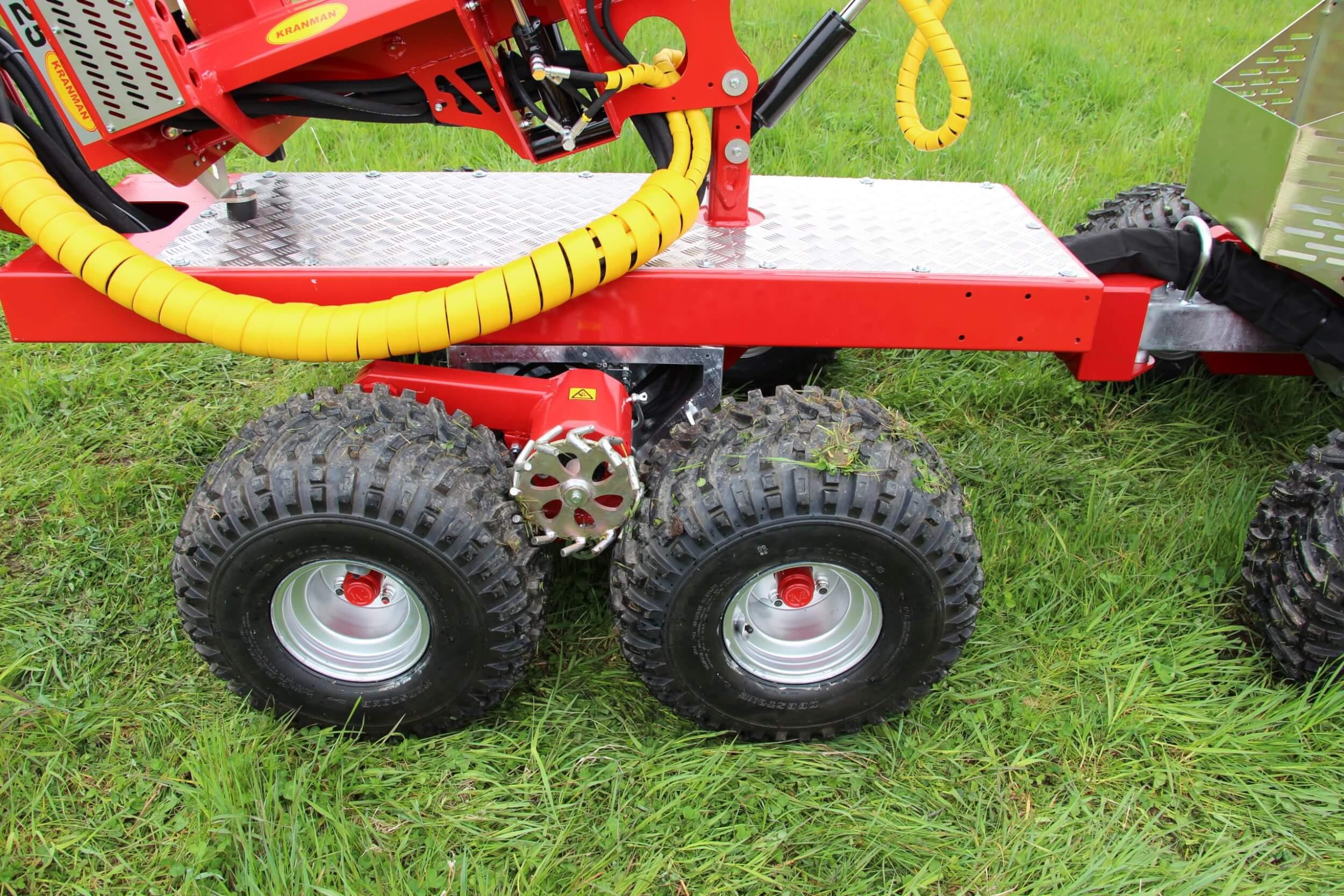 P25B Små hjul