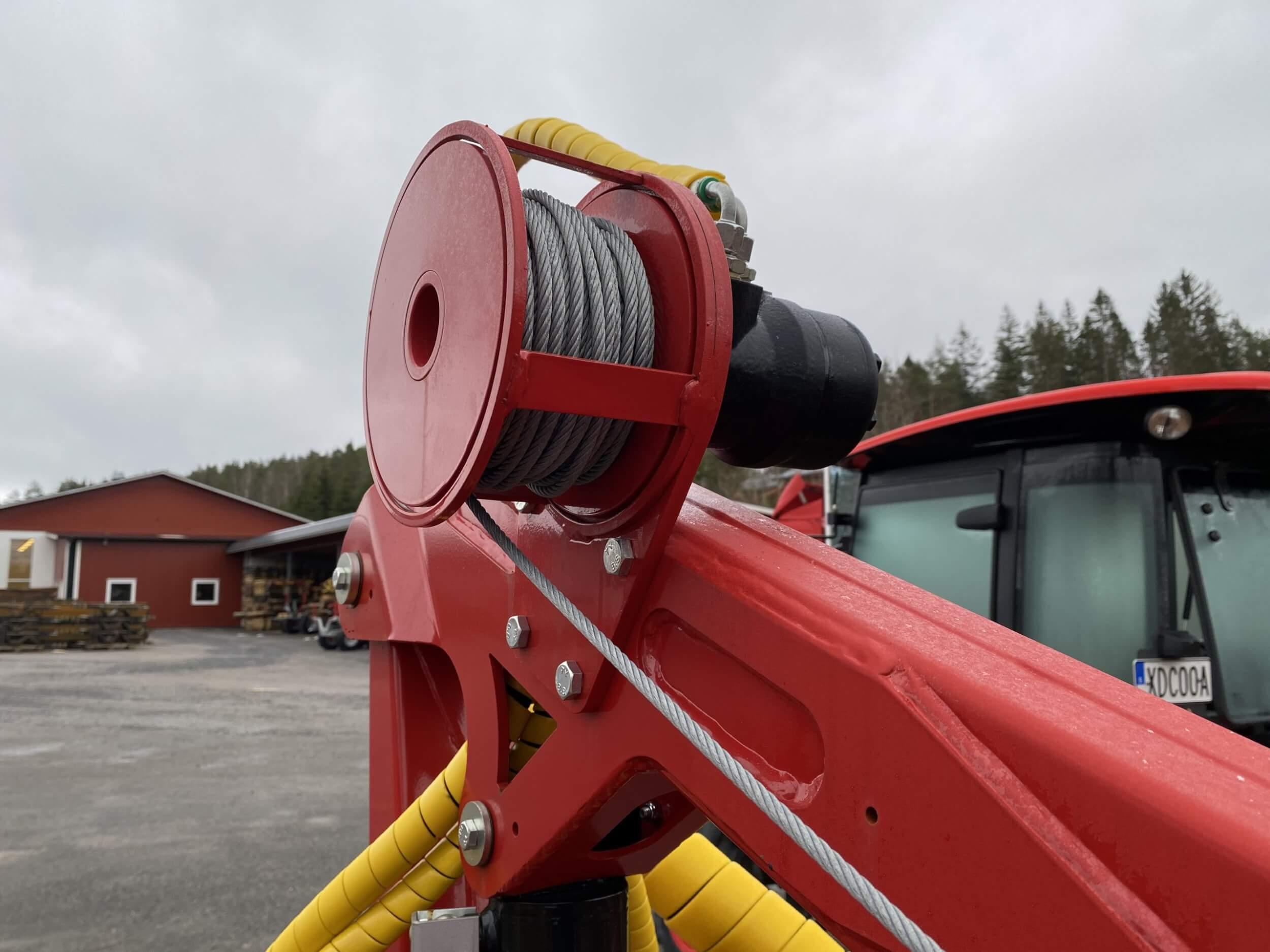 Fjärrstyrd hydraulvinsch HV1000
