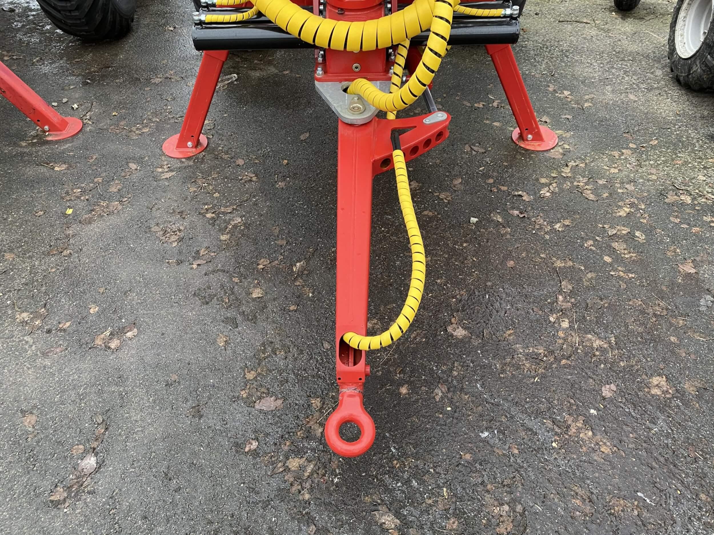 Ramstyrning på T5000ex och T4600 griplastarvagn